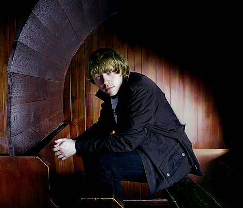 rupert grint for a photo shoot for tom stockill, 2009.
