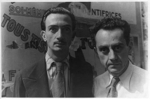 Salvador Dali, Man Ray and I say (very handsomely yet slightly hauntingly): Bona nit, bonne nuit/goodnight and Gute Nacht. x