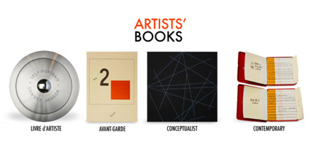 Digital Collection of Artists' Books. Reed College nicely cleared the hurdle of displaying artists' books online. Great design, useful contextual information & a nice sampling — but, of course, the physical originals can't be beat.
