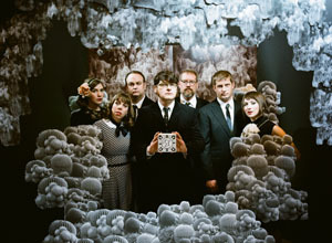 On Oct. 19 the Decemberists will unveil Here Come The Waves: The Hazards Of Love Visualized, a special project that takes their ambitious and acclaimed song cycle to new heights for its final American performance at UCLA's Royce Hall in Los Angeles. This unique live experience will feature the Decemberists in collaboration with four filmmakers — Guilherme Marcondes, Julia Pott, Peter Sluszka, and Santa Maria — each of whom have created animation to accompany musical sections. Presented in association with Flux, the event will also be a benefit for the GRAMMY Foundation's GRAMMY in the Schools music education programs for high school students. For ticket information, visit Ticketmaster.