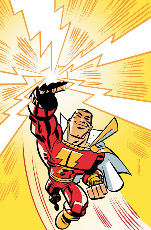 Billy Batson and the Magic of Shazam! #6 by Art Baltazar and Franco and Stephen DeStefano cover art by J. Bone
