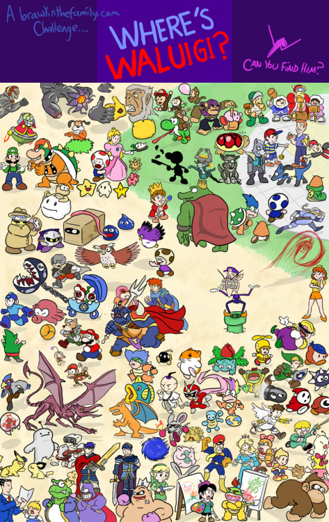 This is so awesome, and not just because there's a bunch of EB & M3 characters in there. ;D Kingsonnn Dedededo is even in there Brawl in the Family