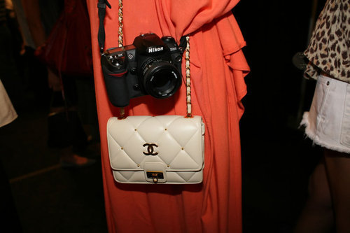 highheelsandhangovers: chanel bag and a nikon camera what more could u need?