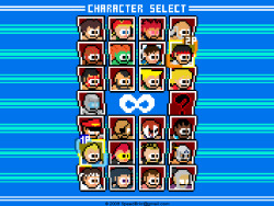 Mega Man-Inspired SF4 Sprites By ReyArt - Shoryuken