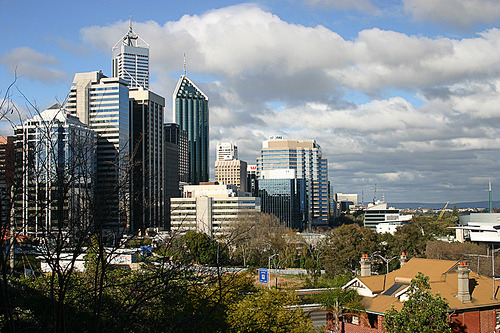Perth Cityscape (Day) (via Robisaur!)