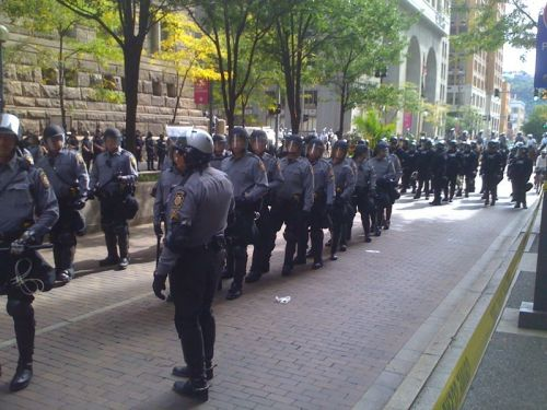 Pittsburgh is a police state