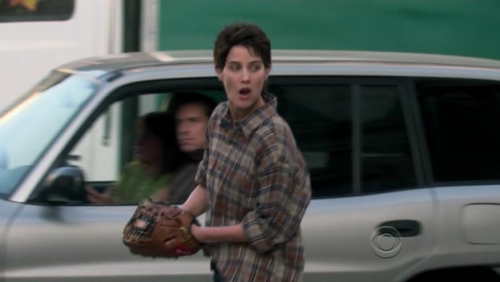The real Lesbian Robin. Colbie Smulders in The L word as Leigh Ostin