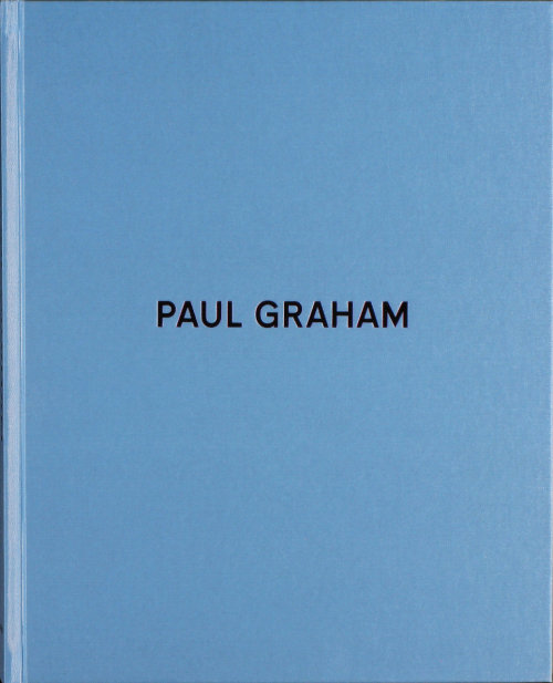 This new book of Paul Graham's photographs seems like a winner! I am really interested in Paul's work because some of my new work is along the same lines- good colour, street style, and (some) low quality. I read one of the essay's in it from the Photo-eye's book tease that was rather intelligent. Its definitely on my wish list.