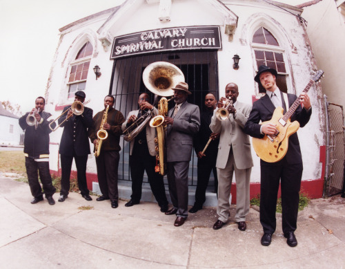 organicgroov: Dirty Dozen Brass Band