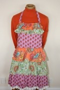 vintage frilly bib apron by Funktion available here