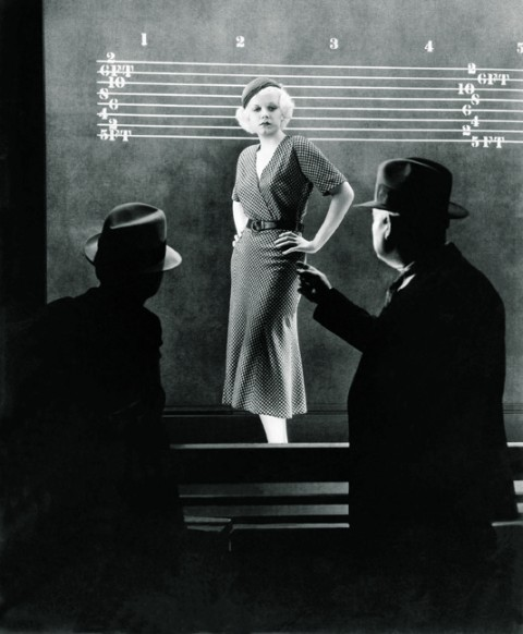 "Jean Harlow in Beast of the City (1932, dir. Charles Brabin) (via TCM) ""Are ya gonna to try and reform me?"" ""What for?"""