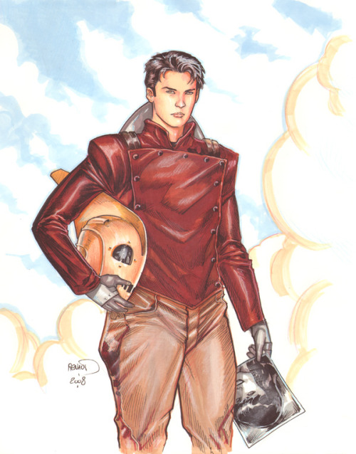The Rocketeer by Paul Renaud