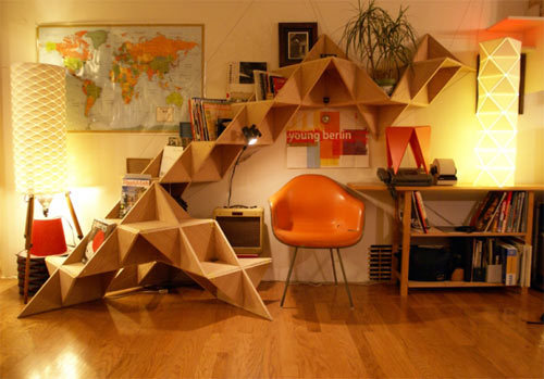 morningbreaks:20 Sensational Bookshelves