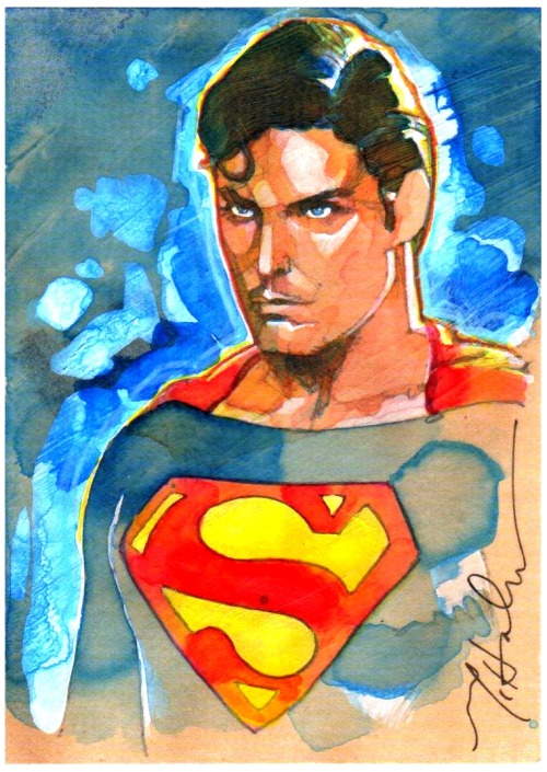 Chris Reeve Superman by Mark McHaley