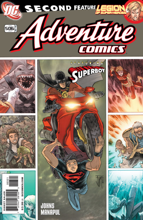 Adventure Comics #3 506 five-page preview at DC The Source blog —issue goes on sale this Wednesday!