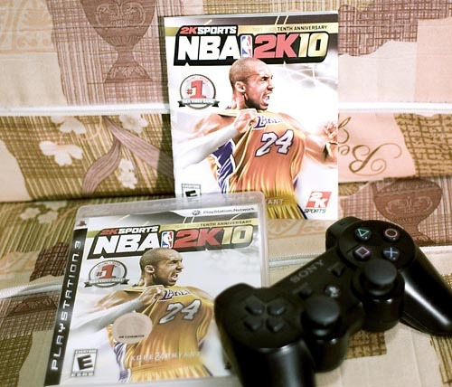 NBA2K10 Now Available in Stores in the Philippines — And it's working great with a Standard TV  People at the retail stores usually know nothing.