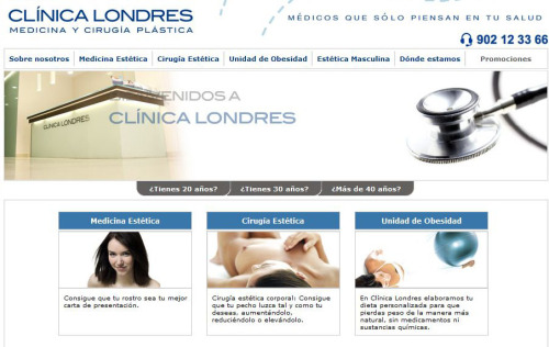 Role: Project and Comunications Manager Agency: MDI Client: Clínica Londres.  Clínica Londres is one of the largest aesthetic medicine clinic in Spain. Based on the increasing online demand of information and prospects comunications, we build a site with were the prospects can find all the informations as well as see the processes of other patients, keeping the privacity of each one. www.clinicalondres.es