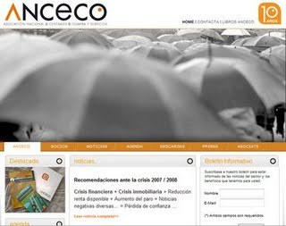 Role: Project Manager Agency: MDI Client: ANCECO ANCECO is the Spanish National Association for the Purchasing Centers. They are operating in Spain since 1998, and in 2008, for their 10th anniversary, we have prepared full of events for them such as a new visual identity, an Anceco history book and a new corporate website. The new site was also a platform for sharing information documents and market studies with all the partners of the association. www.anceco.com