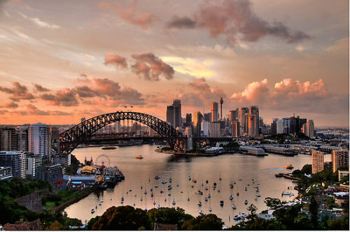 Sydney - Moods Of A City - Fine Art Print by Philip Johnson - RedBubble via photoholic