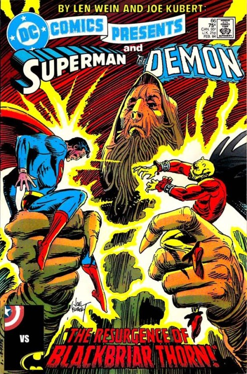 DC Comics Presents #66 by Len Wein and Joe Kubert