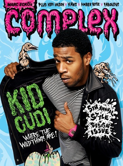 i need to get more of these into my collection. kid cudi x complex mag.