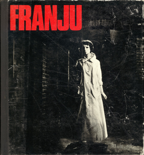 A scan of the cover of a small monograph on the director Georges Franju by Raymond Durgnat, University of California Press, 1968. The cover still is from Franju's film Eyes Without a Face (Les Yeus sans Visage).