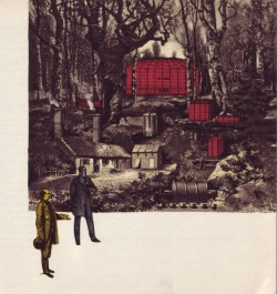 Adolf Hoffmeister, 1964, illus. for Czech trans. of Well's First Men in the Moon (via A Journey Round My Skull)  twink: