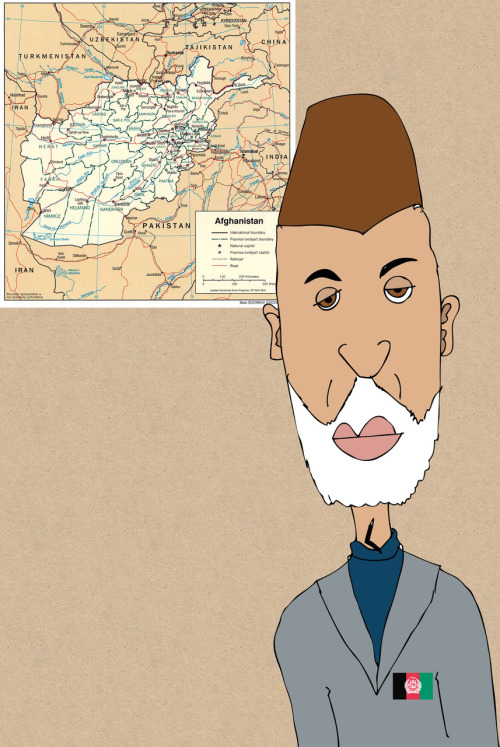 Day 38 of 365 Hamid Karzai I have a back log of things to post as last week I pretty much worked every hour poss. Anyway this was my drawing of the Afghanistan president.