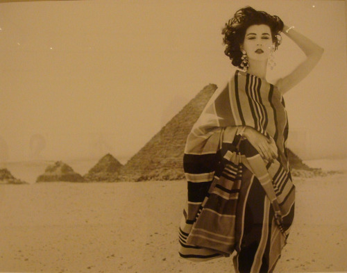 allysong:   Dovima by Richard Avedon in Egypt 1950's  (via vintagegal)
