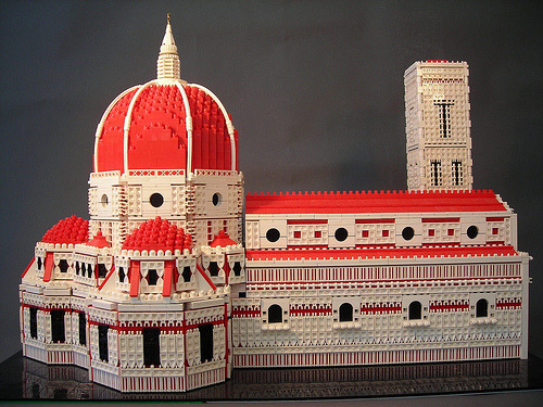 Florence Cathedral in LEGO by torgugick