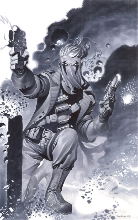 WildC.A.T.s' Grifter by Chris Stevens