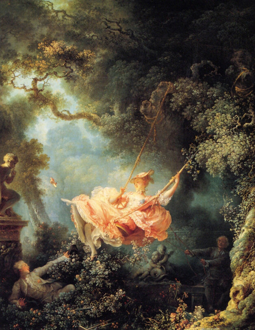 suicideblonde:  Jean Honore Fragonard The Swing