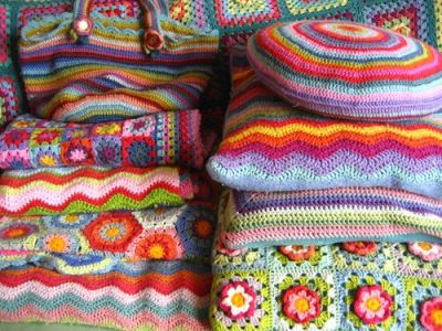 myfarmhouse:   pile of crochet heaven.