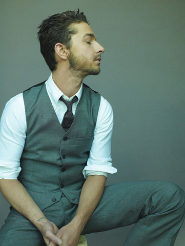 Shia LaBeouf GQ Magazine May 2008