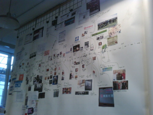 fascinated:  Songkick has a cool app/company timeline in their new space. This is great, all small teams should do this to remember just how much they actually accomplish. Easy to forget.