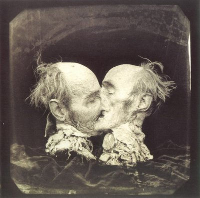 1892 le baisier by Joel-Peter Witkin