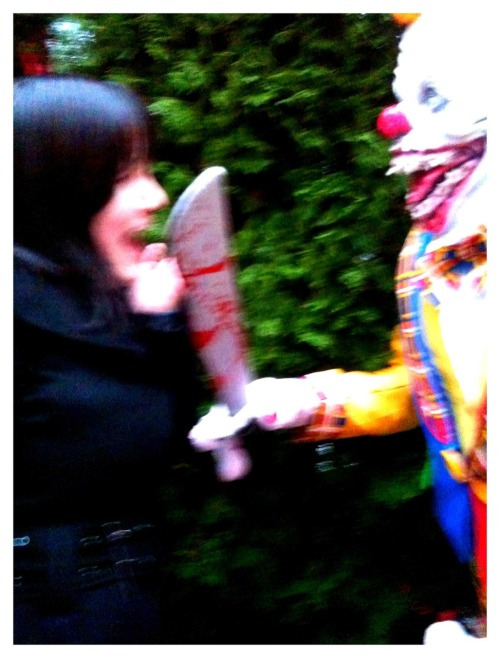 When happy clowns go bad.