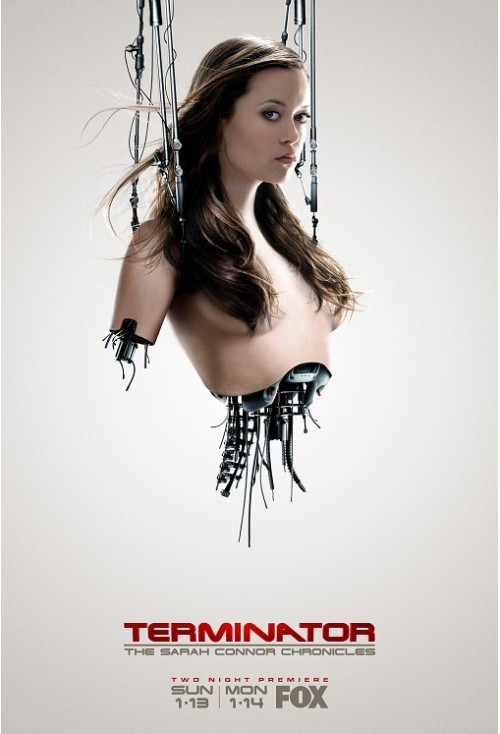 Poster Art for Terminator: The Sarah Connor Chronicles with Cameron  via syzzlyn