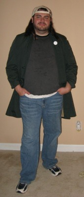 me as Silent Bob (Kevin Smith)