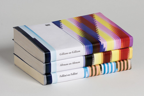 Book Cover Archive: Series of experimental covers for Faber's new POD film range. Inspired by the phenomena of a visual glitch, the design utilizes a logarithm that translates the title and section into a distinct graphic pattern. Original script developed by Ted Davis. PS: I'm back from Argentina.  More on the trip soon!