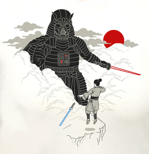 Troopers fear the giant mountain Samurai Vadar.  (via troopas:killleo)