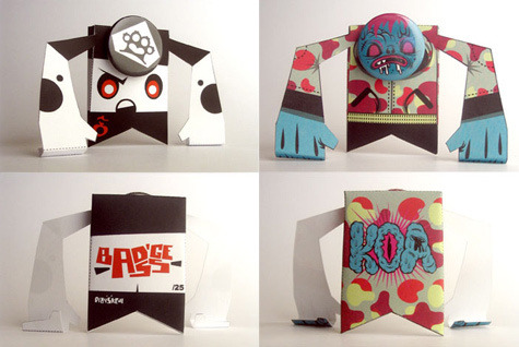 via i74.photobucket.com  papertoy zombie