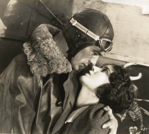 Gary Cooper & Fay Wray in lost film Legion of the Condemned (1928, dir. William A. Wellman) (via)