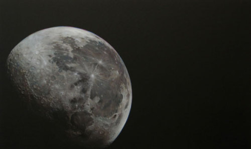 … and to send you off to Slumberland, here's Jan Czerwinski's Mond, also an oil painting - from 2008.