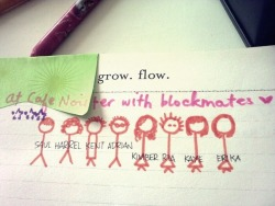 I actually forgot that I can draw.. sticks ;) Hehe. Aww good times, I wish we'd be workload free now. My majors make me suffer a lot. Chill?