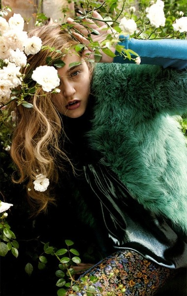 Madisyn Ritland for Elle US: Electric CompanyPhotographed by: Yelena YemchukStyled by: Christopher Niquet