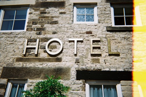 white bear hotel, masham, summer 2009.