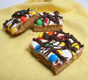 Peanut Butter M&M Bars