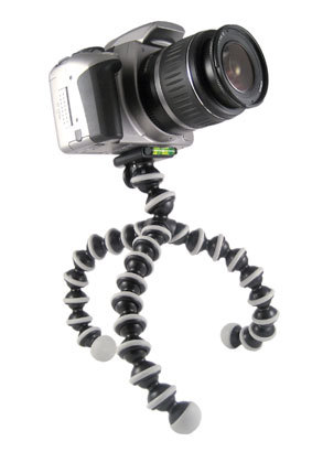 yes please. gorillapod SLR.