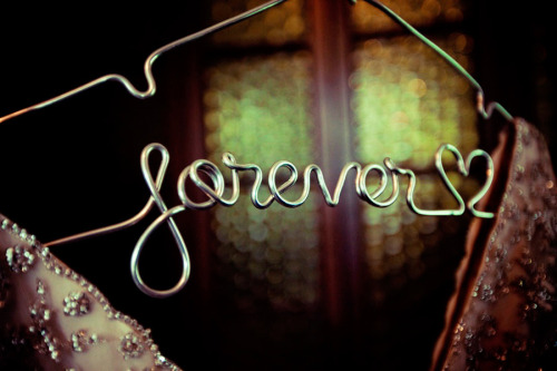 Kara Purtell Photography www.karapurtell.com  'Forever' hanger made by:  Lila Frances Click photo to go to Lila Frances' etsy page.